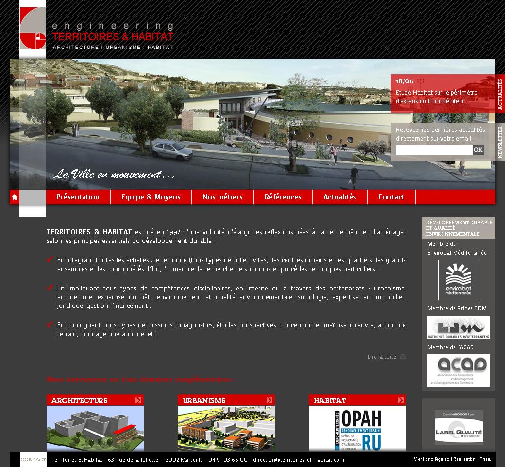 Territoires & Habitat – bureau d'études d'architecture et d'urbanisme