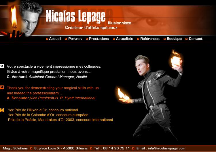 Nicolas LEPAGE
