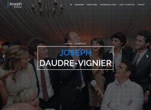 Magicien Joseph - page accueil