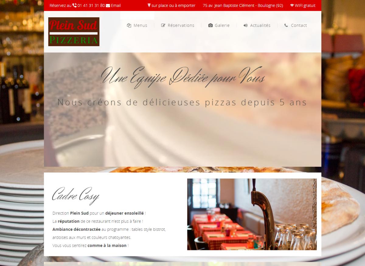 Pizzéria Plein Sud